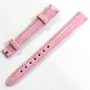 ショパールの替えベルトの未使用品です。 素材はマットクロコダイルで、濃ピンク色です。 尾錠は付属いた...