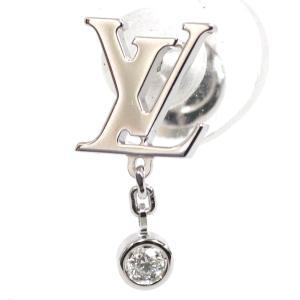 621ade3ff1a2 ルイ・ヴィトン ピュス イディール ブロッサム(Q96544)K18WG/ダイヤモンド 片耳用 LOUIS VUITTON