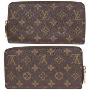more photos 88cd7 ac2a3 ルイヴィトン LOUIS VUITTON モノグラム ジッピーウォレット(M42616)未使用品