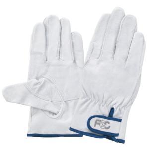 フジグローブ 豚皮レインジャー型アテ付革手袋(F-805)1双