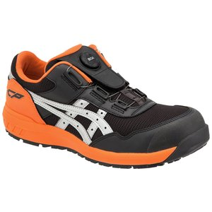 6月中頃入荷予定 送料無料 CP209Boa アシックスの安全靴 asicsウィンジョブ ボアフィットシステムのローカット作業靴 合皮素材 (JSAA A種 樹脂先芯) shigotogear 02