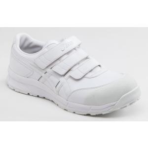 FCP301 アシックスマジックテープタイプの安全作業靴 asicsウィンジョブ合皮素材 (JSAA A種 樹脂先芯) shigotogear 03
