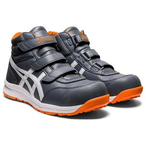 FCP302 アシックスの安全靴 asicsウィンジョブ マジックテープタイプのハイカット作業靴 合皮素材 (JSAA A種 樹脂先芯) |shigotogear|02