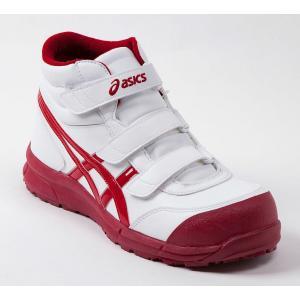 FCP302 アシックスの安全靴 asicsウィンジョブ マジックテープタイプのハイカット作業靴 合皮素材 (JSAA A種 樹脂先芯) |shigotogear|03