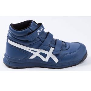 FCP302 アシックスの安全靴 asicsウィンジョブ マジックテープタイプのハイカット作業靴 合皮素材 (JSAA A種 樹脂先芯) |shigotogear|04