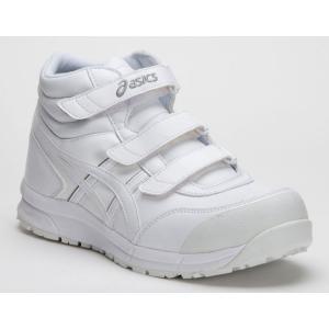 FCP302 アシックスの安全靴 asicsウィンジョブ マジックテープタイプのハイカット作業靴 合皮素材 (JSAA A種 樹脂先芯) |shigotogear|06