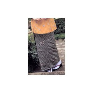 スカート(市松文様に菊花)サンペックス0821463 OD-277|shigotogear
