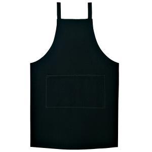 エプロン 制電 ブラック:サンペックス 0820449 AN1841|shigotogear