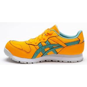 CP207 アシックスの女性用安全靴 レディウィンジョブCP207 ローカットタイプのレディース作業靴 (JSAA A種 樹脂先芯)|shigotogear|08
