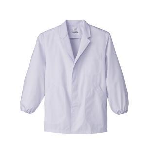 食品用抗菌 男性用調理衣長袖:サンペックス 0820254 FA310|shigotogear
