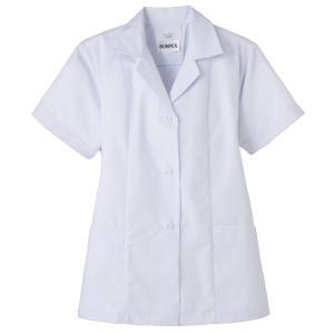 食品用抗菌 女性用調理衣半袖:サンペックス 0820284 FA337|shigotogear