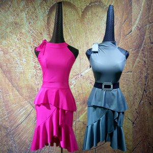 社交ダンスドレス  ラテンドレス モダンドレス  ダンスウエア, 競技 デモ ダンス衣装 ワンピース スカート|shihan