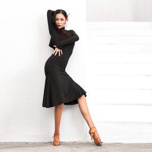 社交ダンスドレス  ラテンドレス モダンドレス  ダンスウエア, 競技 デモ ダンス衣装 ワンピース スカート  011498|shihan