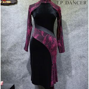 社交ダンスドレス  ラテンドレス モダンドレス  ダンスウエア, 競技 デモ ダンス衣装 ワンピース スカート  011578|shihan