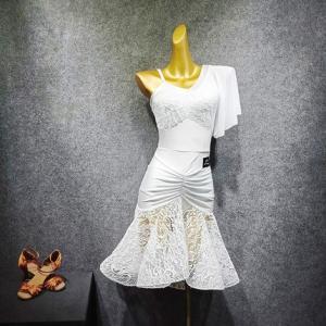 社交ダンスドレス  ラテンドレス モダンドレス  ダンスウエア, 競技 デモ ダンス衣装 ワンピース スカート  011929|shihan