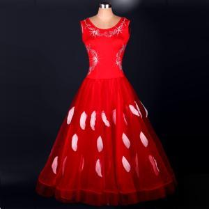 オーダーメード 社交ダンスドレス ラテンドレス...の詳細画像2
