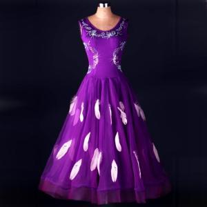 オーダーメード 社交ダンスドレス ラテンドレス...の詳細画像3