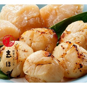 ほたて貝柱の粕漬600g(6個入×2袋・樽詰)|shihoya