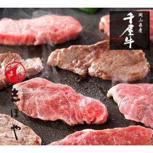 千屋牛焼肉セット(カタ・モモ)800g|shihoya