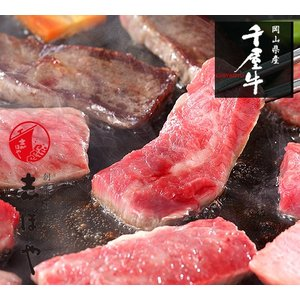千屋牛焼肉セット(ロース・カルビ)500g|shihoya