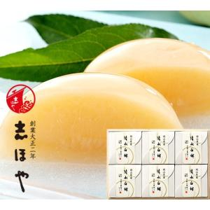 清水白桃半割り果実ゼリー(6個入)木箱入|shihoya