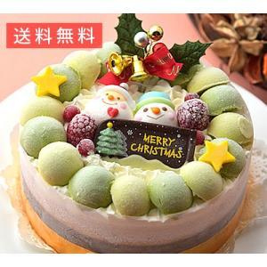 クリスマスデコレーションアイスケーキ【お歳暮ギフト】1台(15cm)|shihoya