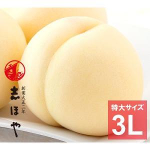 岡山白桃≪特大3Lサイズ≫【お中元ギフト】5玉|shihoya