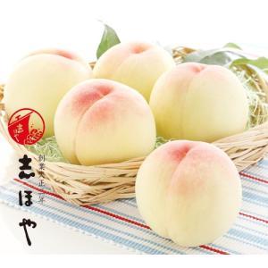 岡山のプレミアム白桃 [Mサイズ] 岡山 白桃 お中元 ギフト お供 お取り寄せ5玉|shihoya