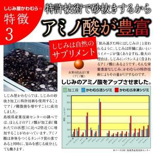ふるさと納税でも大人気 しじみ 島根県・宍道湖...の詳細画像5