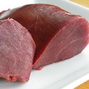 ペット用 えぞ鹿肉 モモ ブロック 1kg shikamarukun 02