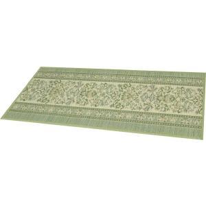 廊下敷き い草 マット 70×180cm アルハンブラ GN|shikimonoya5o5o