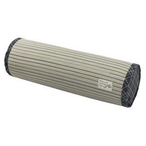 い草 パイプ 枕 快眠枕 ボルスター 直径 約 20×60cm クアドロ 蒸れない 防ダニ 防カビ 抗菌 おすすめ かわいい プレゼント|shikimonoya5o5o