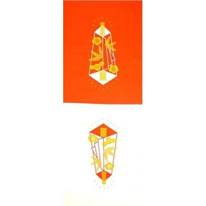 祝い文手拭い 紅白シリーズ 熨斗 加藤萬 約30×35cm 綿100% 京友禅 お祝い お礼|shikisaikan