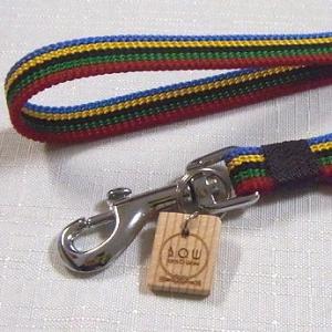 B.O.W 平紐の引き綱 リード 平紐引き綱 子持ち縞 紫式部 正絹 日本製 送料無料|shikisaikan