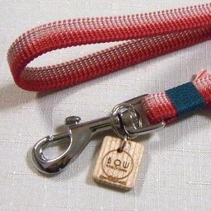 B.O.W 平紐の引き綱 リード 平紐引き綱 子持ち縞 桃花 正絹 日本製 送料無料|shikisaikan