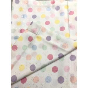 替え袖 うそつき袖 「衿秀」き楽っく専用 白地に 水玉柄マジック付 日本製|shikisaikan