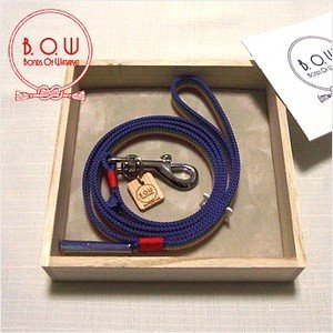 B.O.W 平紐の引き綱 リード 平紐引き綱 子持ち縞 虹色 正絹 日本製 送料無料  御揃いの帯締めあります。|shikisaikan