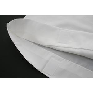 替え袖 【1尺3寸】 「キュプラ」白色 うそつき襦袢用 うそつき袖 袷/単衣兼用 半無双 「衿秀」き楽っく専用 袖マジック付 【日本製】|shikisaikan|02