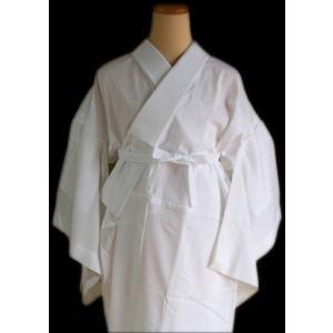 日本製 ローズカラー洗える半襦袢のみ白 ) お仕立て上がり品 LL サイズ 裾除けはついてません shikisaikan 03