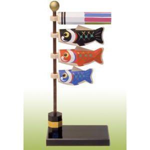 一刀彫り五月人形(大空鯉のぼり)|shikisaikan