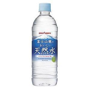 富士山麓のおいしい天然水 530ml 1箱(24本入) ポッ...