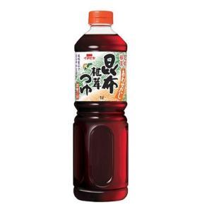 あわせだし昆布椎茸つゆ 濃縮2倍 1000mlペットボトル イチビキ株式会社|shikisaikurabu