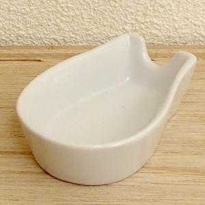 レンゲ置き 白 業務用 美濃焼 9b346-16|shikisaionline