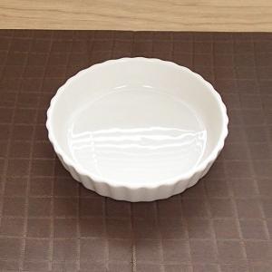 タルト 10.3cm 白 おしゃれ 業務用 洋食器 美濃焼 k13120098