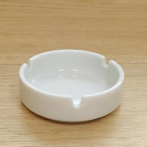 灰皿 三つ切3.0灰皿 白切立 業務用 美濃焼