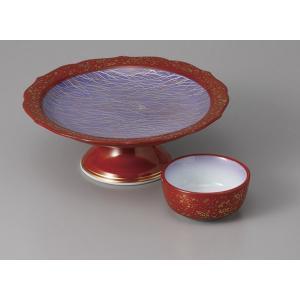 刺身皿と醤油小皿のセット。多彩な料理に対応できる業務用和食器です。 サイズ:高台向付:W15.7×H...