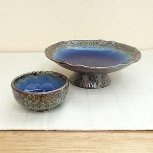 刺身皿と醤油小皿のセット。多彩な料理に対応できる業務用和食器です。 サイズ:高台向付:W15×H5....