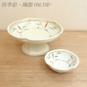 刺身皿と醤油小皿のセット。多彩な料理に対応できる業務用和食器です。 サイズ:高台刺身鉢:W16.7×...