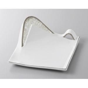サイズ:W25×D18×H3.5cm 材質:磁器 美濃焼(日本製) ※食洗機 電子レンジ使用不可 ※...