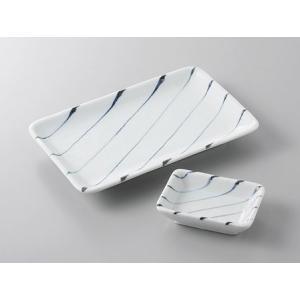 サイズ:焼物皿W20×D13×H2.5cm     小皿W9×D6.2×H2.5cm 材 質:磁器 ...